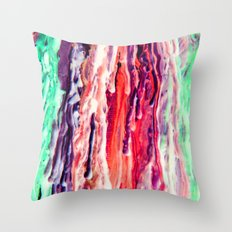 Wax #3 Throw Pillow