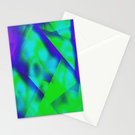 Green Color Package Stationery Cards