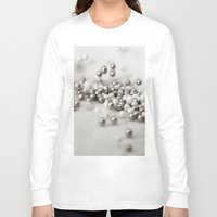 silver Long Sleeve T-shirts featuring Silver by Amanda Stevens