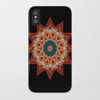 southwest iPhone & iPod Cases featuring Southwest Kaleidoscope  by North 10 Creations