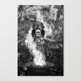 After Death Ritual Canvas Print