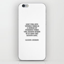Look well into thyself - Quote by Marcus Aurelius iPhone Skin