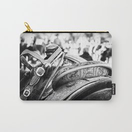 Get Back In The Saddle Carry-All Pouch
