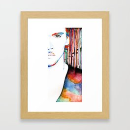 The Stuff We're Made Of Framed Art Print