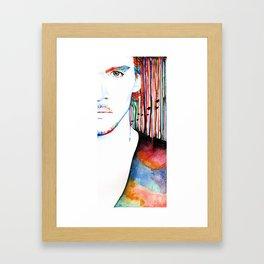 The Stuff We're Made Of Framed Art Print