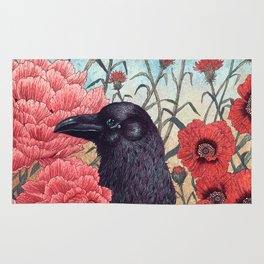 Crow Effigy Rug