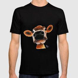 Nosey Cow ' JERSEY JOY ' by Shirley MacArthur T-shirt