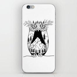 Mothernature Owl iPhone Skin