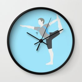 Wii Fit Trainer♂(Smash) Wall Clock