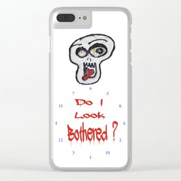 Do I look Bothered 2 ? Clear iPhone Case