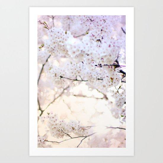Water-colour Spring #3 Art Print