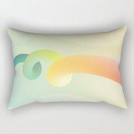 Asbtract Liquid Rectangular Pillow