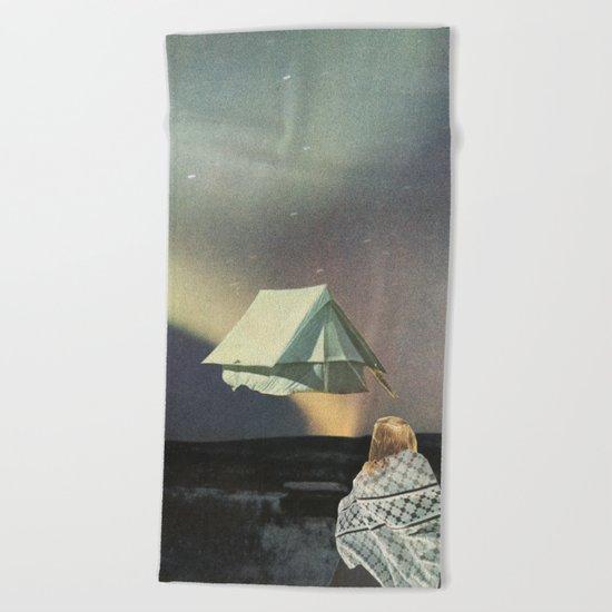 Tent Beach Towel