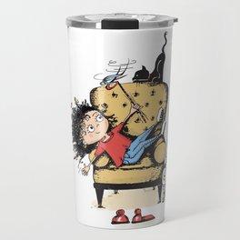 Let's play kitten Travel Mug