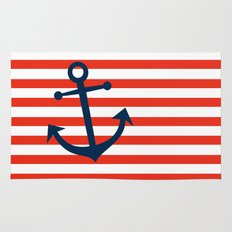 Nautical Anchor Rug