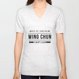 Wing Chun  Unisex V-Neck