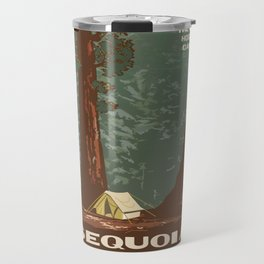 Vintage poster - Sequoia National ParkX Travel Mug