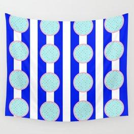polka stripe Wall Tapestry