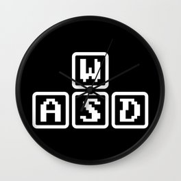 WASD Wall Clock