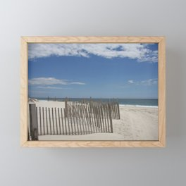 Long Island Beach Framed Mini Art Print