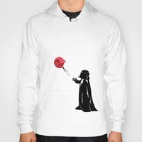 banksy Hoodies featuring Little Vader - Inspired by Banksy by kamonkey