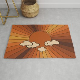 Retro Sunshine Rug