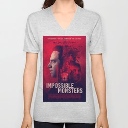 """""""Impossible Monsters"""" Theatrical Movie Poster Unisex V-Neck"""