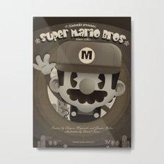 Mario Bros Fan Art Metal Print