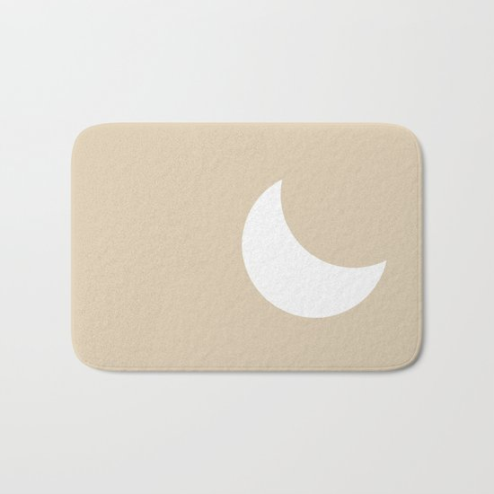Moon #Minimal Bath Mat