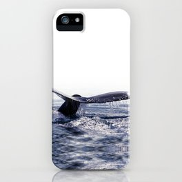 WHALE SONG 1 - DEEP DIVE iPhone Case