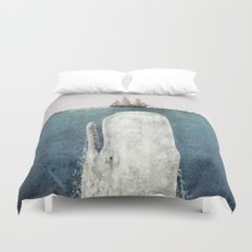 The Whale - vintage  Duvet Cover