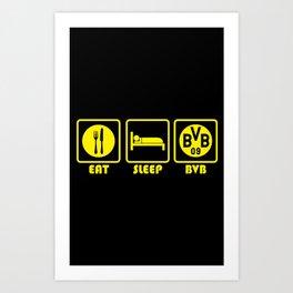 ESP: Dortmund Art Print