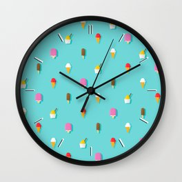 Ice Cream Daydream Wall Clock