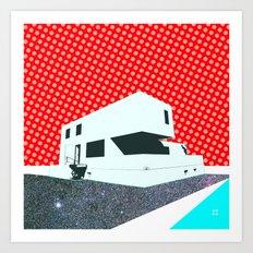 Bauhaus Meisterhaus Pop 5 Art Print