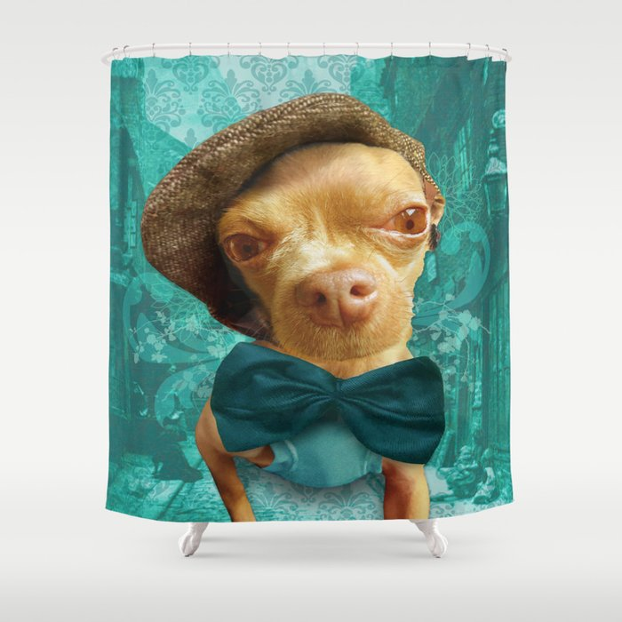 PHiNEAS TWiST (more please sir...) Shower Curtain