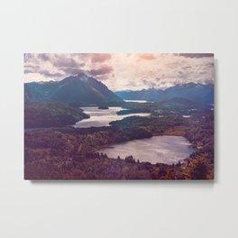 Lake in the mountains Metal Print