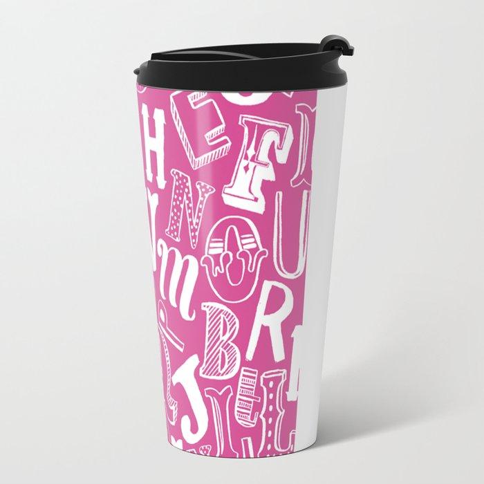 A-Z Travel Mug