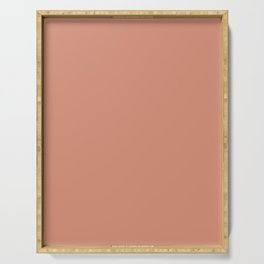dusty pink Serving Tray