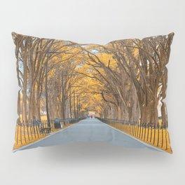 Golden Mall Promenade Pillow Sham