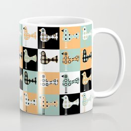 Little Leggy Flowerbirds Coffee Mug