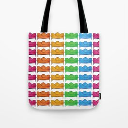 PopArt Antique Couch Print Tote Bag
