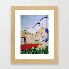 cheyenne Framed Art Print
