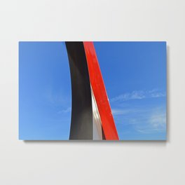 "Sky Park ""Candy Apple Metal"" Metal Print"