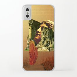 In Ruins Clear iPhone Case
