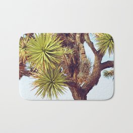 Joshua Tree Up Close Bath Mat