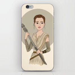 Rey iPhone Skin