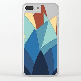 Colours of Stars Clear iPhone Case