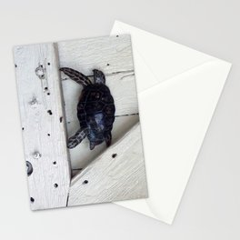 Turtle at the Door Stationery Cards
