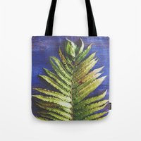 fern Tote Bags featuring Fern by Olivia Joy StClaire