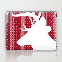 Eleghant Red Deer Holiday Design Laptop & iPad Skin